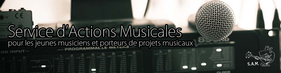 Service d'actions musicales